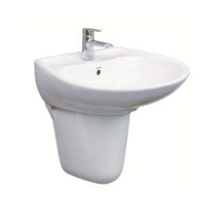 Chậu chân lửng lavabo TOTO LHT300CM