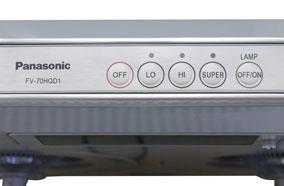Máy hút mùi Panasonic FV-70HQD1-S