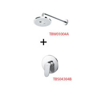 Sen tắm âm tường ToTo TBS04304B kèm bát sen TBW01004A