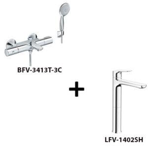 Sen tắm Inax BFV-3413T-3C kèm vòi rửa LFV-1402SH