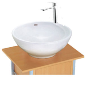 Bộ sản phẩm chậu đặt bàn và vòi American 0500-WT+WF-0902(V3)